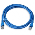 Steren 308-607BL 7' FT Blue CAT5e Patch Cable UTP 350 MHz Molded Booted RJ45 Network Snagless 24 AWG Copper Stranded Male to Male RJ-45 Enhanced Category 5e High Speed Ethernet Data Computer Gaming Jumper, Part # 308607-BL