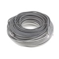 Eagle 50' FT CAT5e Patch Cord Cable Copper Gray Snagless 24 AWG Copper 350 MHz UTP RJ45 Molded Booted Network Patch 24 AWG Copper Stranded Male to Male RJ-45 Enhanced