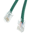 Steren 308-601GN 1' FT CAT5e UTP Patch Cable Green RJ45 Flush 350 MHz RJ-45 Network 24 AWG Stranded Male to Male Enhanced Category 5e High Speed Ethernet Data Computer Gaming Jumper, Part # 308601-GN