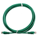 Eagle 25' FT CAT5e Patch Cord Cable Green UTP 350 MHz Snagless Ethernet 24 AWG Copper Stranded RJ45 Male to Male RJ-45 Enhanced Category 5e High Speed Ethernet Data Computer Gaming Jumper