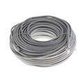 Eagle 100' FT CAT5e Patch Cord Cable Gray Snagless RJ45 UTP Ethernet 350 MHz Booted Ends Network Flush Molded 24 AWG Copper Pro Grade Male to Male RJ-45 Enhanced Category 5e High Speed Jumper