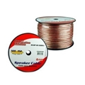 Eagle IS-SP-10-500CL 500 FT Speaker Cable 10 AWG 2 Wire Conductor Audio Clear Stranded CCA Copper Polarized