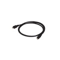 Steren 506-133BK 3' Foot USB Micro A to Micro B Cable Black USB Data Cable for PDA, MP3 Player, Camera, Cell Phone, Etc