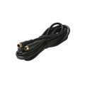 Eagle 75' FT S-Video Cable Male to Male 4 Pin VHS Shielded Gold Plated Din Each End Shielded Digital Video Cable TV Connection Cord Premium Output Input Hook-Up Jacks