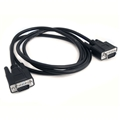 Eagle 3' FT VGA SVGA Monitor Cable Male to Male HD15 Data Transfer Black Monitor 0.7 Inch 15 Pin VGA to VGA Interconnect Computer Cable