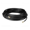Channel Master 3152 RG6 Coaxial Cable 75' FT with Gold Plated F-Connector Each End Solid Copper Black 18 AWG 75 Ohm Indoor/Outdoor RG-6 2.2 GHz Swept Tested Part # CM-3152