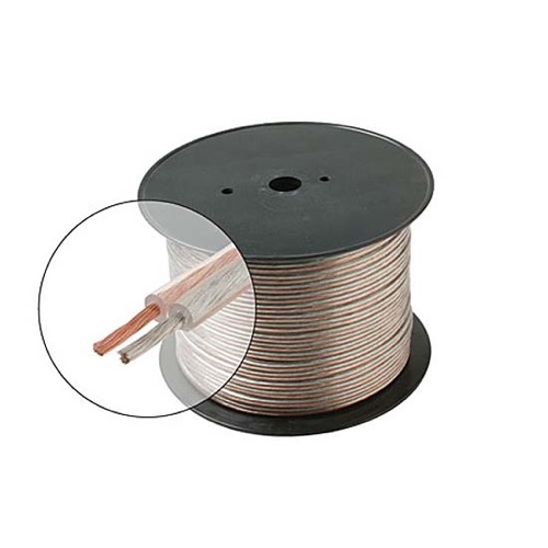 Eagle 12 AWG GA Speaker Cable 2 Wire Conductor Copper Polarized High ...