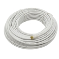 Steren 205-445WH RG6 Coaxial Cable F-Connector On Each End UL Listed 100' FT RG-6 Antenna Satellite Digital Shielded Dish Video Signal Coax Cable, Part # 205445-WH