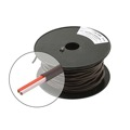 Eagle 18 AWG GA Control Cable 2 Wire Conductor Brown Solid Copper PVC Jacket UL Color Codes PVC Jacket Residential and Commercial Thermostat 18-2, Sold By The Foot