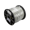 Belden YR48609 RG6 Solid Copper Core Plenum Coaxial Cable Natural DirecTV Approved UC. Listed 1000 FT, Part # CA6PW1