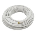 Philips SWV2176W RF Cable Coaxial 50' FT White Male F-Connector Each End RG6 Coaxial Cable Video TV Wire UL Listed Shielded / Braided Signal Cable, Part # SWV-2176W
