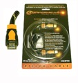 NEXT GEN 4M HDMI Cable Gold Copperhead Four Meter 1080p Certified 1.3A Male to Male Simplay Approved 4 Meter Ultimate, 28 AWG, HD Multi-Media Interface Cable (13.2' FT) with Nylon Jacket, Monster Quality, Part # HDMI4CH