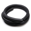"Split Tube Cable Flex Organizer 3/4"" Wide 10' FT Audio Video, Home Office Computer Data Wire, Coaxial Component Cord Tubing, Spiral Design, Black, Part # Woods Gizzmo 7047"
