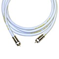 Monster 140046-00 RG6 Video Coaxial Cable White 3 FT
