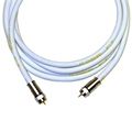 12' FT RG6 Coaxial Cable Monster SV-RG-6 CL RG-6 Jumper Digital 75 Ohm with Heavy Compression F Type Connectors, CATV Double Shielded HDTV High Resolution, UL Listed, High Flexibility, Part # SVRG6CL-12