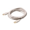 Steren 506-360 10' FT A-A USB 2.0 Cable USB A to A Male to Male Backwards Compatible with USB 1.1, Flexible PVC Jacket with 24K Gold Contacts, UL Listed, Part # 506360