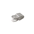 Steren 400-530 Steel E-Drop Cable Clip Metal Clamp Coaxial Wire for Overhead Drop Installation Secure to Wood or Masonry, Galvanized E-Drop Coaxial Cable Clip Wire Strap Holder Fastener, Part # 400530