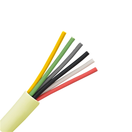 Eagle 500 ft 6 conductor cable 24 awg ga solid copper wire round eagle 500 ft 6 conductor cable 24 awg ga solid copper wire round station bulk cable roll beige pvc jacket speaker wire audio cable copper wire 246 bulk greentooth Images