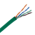 Vericom 1000 FT CAT5E Cable Green Solid Copper 350 MHz Box UTP CMR Riser Rated High Speed Ethernet Computer Data Transfer Phone / Telephone Network Line, 24 Gauge, 4 Twisted Pair, UL Listed
