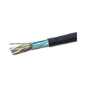 Eagle 1000' FT CAT6 Cable FTP Solid Copper Black Foil Shielding 23 AWG