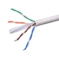 Eagle 89WH2R CAT6 Cable 550 MHz CMR White Solid Copper Network UTP 23 AWG Certified Unshielded White FastCat Ethernet Certified 4 Twisted Pair UL Listed PVC Jacket Enhanced Per Foot, Part # CAT6WH
