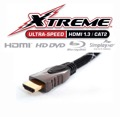Xtreme Cable 6M HDMI 1.3 6 Meter Male to Male 1080p Blu-Ray Disc HD DVD Simplay HD 1440p Approved 10.2 Gbps Data Rate, 48-Bit Color, Triple Shielded Nitrogen Injected HDMI Cable, Supports 8 Channel HD Surround Sound, Monster Quality (20' FT), Part # 6MX