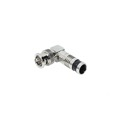 Vanco BNC Right Angle Compression Connector RG59 Coaxial Male 90 Adapter RG-59 Coaxial Cable Perma Seal Adapter Jack Plug BNC Video 1 Pack Male to Female BNC Signal Cable