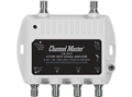 Channel Master CM-3414 4 Way Distribution Amplifier Mini Four Output 8 dB Drop UHF VHF Multimedia Amplifier 8 dB UHF/VHF Multimedia CM3414 Signal Amplifier Booster Amp Multi-Media Part # 3414