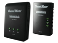 Channel Master CM-6104 Internet to TV Power Line Adapter 4 Port Kit 200 Mbps Transmission Rate MoCA 1.1 Compliant 16 Nodes Uses Existing Home Electrical System to Link Internet Adapter Kit, Part # CM6104