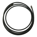 Monster Cable 9 FT MV Quad RG6 Coaxial Black With Deluxe Compression F Connector Ultra Flexible Copper Shielded