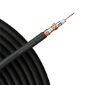 Monster Cable 3 FT MV Quad RG6 Coaxial Black With Deluxe Compression F Connector Ultra Flexible Copper Shielded