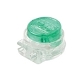Eagle UG Connector IDC Green Butt Tap Splice 100 Pack Telephone Connector Gel-Filled 19 - 26 AWG 3M Type Modular Telephone Wire Conductor Data Signal Cable Squeeze Crimp Audio Connectors