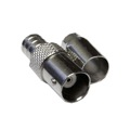 Steren 200-135 BNC Female Connector 2 Piece Hex Crimp Jack RG59 RG62 Coaxial Commercial Grade Coaxial Female Plug Connector Hex Crimp BNC Connector, Part # 200135