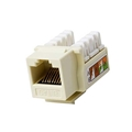 Eagle CAT6 Keystone Jack Ivory 10 Pack RJ45