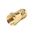 Steren 200-031-10 RG-59 Gold Crimp-On F Connector 10 Pack Crimp-On RG59 Coaxial Cable Plug Connector Coax Cable TV Antenna Video Data Plug Connectors, Part # 200031-10