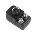 Eagle Quick Push-On Matching Transformer 75 - 300 Ohm 8OB2 Coaxial Cable Balun Adapter with Quick F Connect Matching Signal