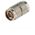 Steren 200-736 N Series Coupler Plug to Plug Adapter UG57 Male Connector 4 GHz Satellite System Coaxial Double Barrel Connector Jointed Adapter, UG213, Part # 200736