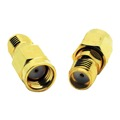 Eagle WF6030 SMA Female to SMA-RP Male Coupling Barrel Adapter Gold Coaxial with Gold Plated Contacts Commercial Grade Adapter Connector SMA Series Component Adapter
