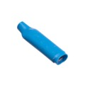 Steren 300-077 B-Wire Connector Bean with Gel Filled Blue Crimp Type Insulated Butt 19-26 AWG Solid Wire Copper Wire Splice, Sold as Singles, Part # 300077