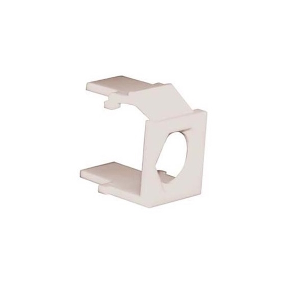 Eagle 100 Pack Keystone Insert F Type Almond Blank Connector Wall ...