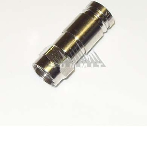 Eagle Rg6 U Quad Coaxial Compression F Type Connector Perma Seal Rg 6 Coax Single 1 Pack Weather Sea - 41+ F Type Connectors Coaxial Cable Pictures
