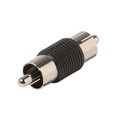 Eagle RCA Male Coupler Adapter Connector Video Audio Joiner A/V Connector Connect 2 RCA Female Cables Composite Video Adapter Jack Double In-Line Splice Signal Cable Joint Extender