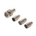 Steren 200-123 BNC Hex Crimp Male Connector Kit RG6 RG59 RG58 4 Piece Plug RG-59 RG-6 RG-58 Commercial Grade Coaxial Female Plug Connector Hex Crimp BNC Connector Kit, Part # 200123