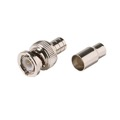 Eagle BNC Crimp Coaxial Connector RG59 Plenum Commercial Grade 2 Piece Male Plug Coaxial Adapter Crimp-On BNC Connector, RF Digital Commercial Audio Video Coax