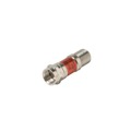 Steren 201-403 3 dB Attenuator Inline Female to Male Pad 0-2000 MHz 5% Tolerance Return Loss 20 dB Typical Signal Nickel Plated DC Block 1 Pack Coaxial Coupler Adapter, Part # 201-403