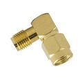Steren 200-866 SMA Right Angle 90 Degree Male to Female Adapter Jack to Plug with Gold Plated Contacts and Teflon Insulator Commercial Grade Connector SMA Series Plug Adapter, Part # 200866