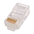 Eagle CAT6 RJ45 Plug Connectors 1 Pack 2PCS With Load Bar Modular
