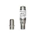 Linear TC-200A RF Tilt Compensator Inline Filter Coaxial F Type Connector High Frequency Attenuator Female to Male Coupler with Female to Female Barrel Adapter