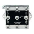 Channel Plus 2538 8-Way BI-Directional Splitter Combiner 1 GHz Video Signal Bi-Directional Coaxial DC Block Coax Cable Splitter UHF / VHF TV Antenna Combiner, 5-1000 MHz, Part # 2538