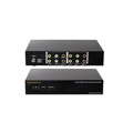 Channel Plus 5435 Triple Channel RF Modulator 3 Component Frequency Agile Digital Modulator Three Source 3 Channel Video Audio Push Button Signal Modulator CATV Channels 65 - 125 Off-Air DTV UHF Channels 14 - 64, Part # CP5435